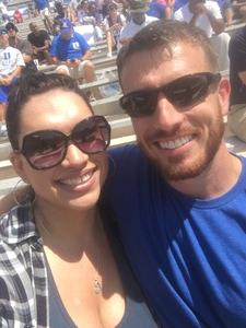 Celia attended Duke University Blue Devils vs. Northwestern - NCAA Football on Sep 9th 2017 via VetTix