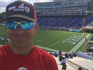 Jason attended Duke University Blue Devils vs. Northwestern - NCAA Football on Sep 9th 2017 via VetTix