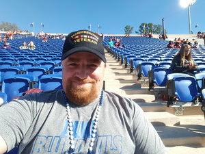 Thomas attended Duke University Blue Devils vs. Northwestern - NCAA Football on Sep 9th 2017 via VetTix