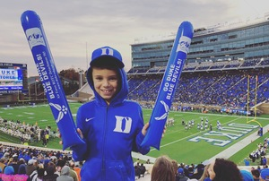 Andrea attended Duke University Blue Devils vs. Georgia Tech - NCAA Football on Nov 18th 2017 via VetTix