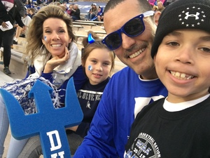 Travis Robinette attended Duke University Blue Devils vs. Georgia Tech - NCAA Football on Nov 18th 2017 via VetTix