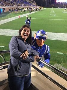 WILLIAM attended Duke University Blue Devils vs. Georgia Tech - NCAA Football on Nov 18th 2017 via VetTix