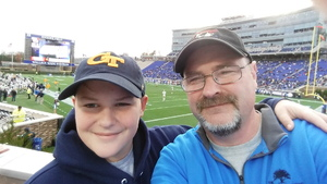 Kenneth attended Duke University Blue Devils vs. Georgia Tech - NCAA Football on Nov 18th 2017 via VetTix