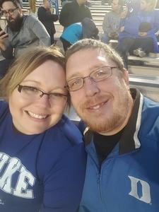 Christopher attended Duke University Blue Devils vs. Georgia Tech - NCAA Football on Nov 18th 2017 via VetTix
