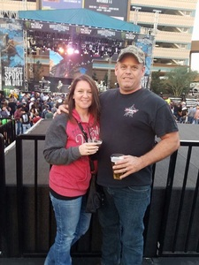 Leslie attended PBR - Built Ford Tough Series - World Finals on Nov 3rd 2017 via VetTix
