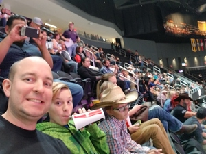 Bryant attended PBR - Built Ford Tough Series - World Finals on Nov 3rd 2017 via VetTix