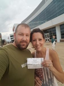 Charles attended Soul2Soul Tour With Tim McGraw and Faith Hill on Aug 18th 2017 via VetTix