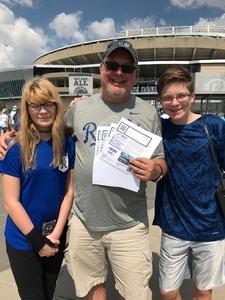 Jay attended Kansas City Royals vs. Minnesota Twins - MLB on Sep 10th 2017 via VetTix