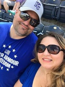 Stephan attended Kansas City Royals vs. Minnesota Twins - MLB on Sep 10th 2017 via VetTix