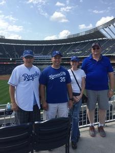 Gary attended Kansas City Royals vs. Minnesota Twins - MLB on Sep 10th 2017 via VetTix