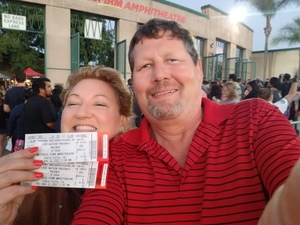 Cheryl & Steve attended 8 Tour - Incubus With Special Guests Jimmy Eat World and Judah and the Lion - Reserved Seats on Aug 11th 2017 via VetTix