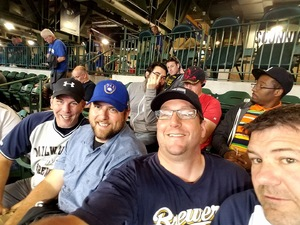 Aaron attended Milwaukee Brewers vs. Pittsburgh Pirates - MLB on Sep 13th 2017 via VetTix