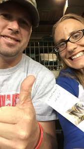 Michael attended Milwaukee Brewers vs. Pittsburgh Pirates - MLB on Sep 13th 2017 via VetTix