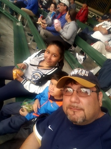 Oscar attended Milwaukee Brewers vs. Pittsburgh Pirates - MLB on Sep 13th 2017 via VetTix
