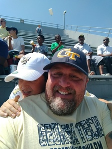 matthew attended Georgia Tech Yellow Jackets vs. Jacksonville State - NCAA Football on Sep 9th 2017 via VetTix