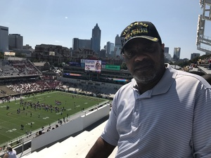 Andrew L. Harrison Jr, attended Georgia Tech Yellow Jackets vs. Jacksonville State - NCAA Football on Sep 9th 2017 via VetTix