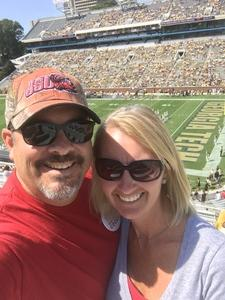 Jamie attended Georgia Tech Yellow Jackets vs. Jacksonville State - NCAA Football on Sep 9th 2017 via VetTix