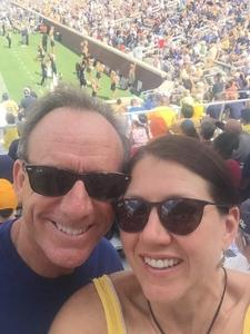 Ken attended Georgia Tech Yellow Jackets vs. Pittsburgh - NCAA Football on Sep 23rd 2017 via VetTix
