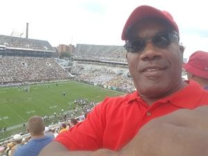 Calvin attended Georgia Tech Yellow Jackets vs. Pittsburgh - NCAA Football on Sep 23rd 2017 via VetTix