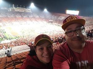 Ralph attended University of Southern California Trojans vs. Stanford - NCAA Football on Sep 9th 2017 via VetTix