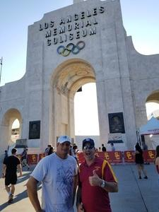 Steve attended University of Southern California Trojans vs. Stanford - NCAA Football on Sep 9th 2017 via VetTix