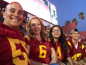 Jorge attended University of Southern California Trojans vs. Stanford - NCAA Football on Sep 9th 2017 via VetTix
