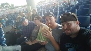 Steve attended Jeff & Larry's Backyard BBQ Wih Special Guest Eddie Money and the Marshall Tucker Band - Reserved Seats on Sep 15th 2017 via VetTix