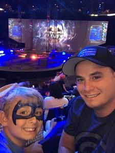 Derriel attended Marvel Universe Live! Age of Heroes - Show Tickets + Captain America Meet & Greet on Sep 8th 2017 via VetTix
