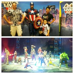 Josh attended Marvel Universe Live! Age of Heroes - Show Tickets + Captain America Meet & Greet on Sep 8th 2017 via VetTix