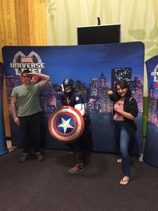 Richard attended Marvel Universe Live! Age of Heroes - Show Tickets + Captain America Meet & Greet on Sep 8th 2017 via VetTix