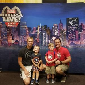 ryan attended Marvel Universe Live! Age of Heroes - Show Tickets + Captain America Meet & Greet on Sep 8th 2017 via VetTix