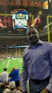 Willam attended Philadelphia Soul vs. Tampa Bay Storm - Arena Bowl XXX on Aug 26th 2017 via VetTix