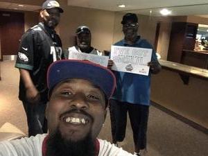 ROY attended Philadelphia Soul vs. Tampa Bay Storm - Arena Bowl XXX on Aug 26th 2017 via VetTix