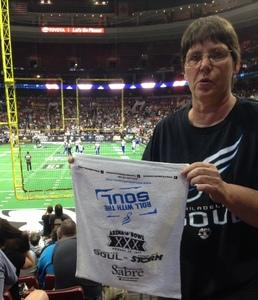 Paula attended Philadelphia Soul vs. Tampa Bay Storm - Arena Bowl XXX on Aug 26th 2017 via VetTix