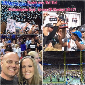Philip attended Philadelphia Soul vs. Tampa Bay Storm - Arena Bowl XXX on Aug 26th 2017 via VetTix