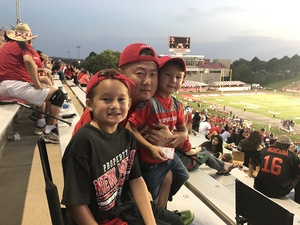 Tyler attended University of New Mexico Lobos vs. Abilene Christian - NCAA Football on Sep 2nd 2017 via VetTix