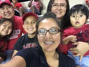 Clifton attended University of New Mexico Lobos vs. Abilene Christian - NCAA Football on Sep 2nd 2017 via VetTix