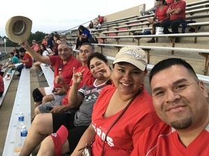 Brandon attended University of New Mexico Lobos vs. Abilene Christian - NCAA Football on Sep 2nd 2017 via VetTix