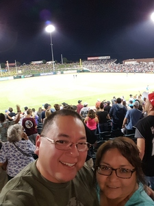 JOHN W attended University of New Mexico Lobos vs. Abilene Christian - NCAA Football on Sep 2nd 2017 via VetTix