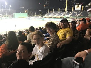 George attended Pittsburgh Pirates vs. Baltimore Orioles - MLB on Sep 27th 2017 via VetTix