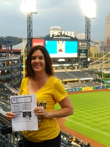 Killeen Avila Martinez, LMT attended Pittsburgh Pirates vs. Baltimore Orioles - MLB on Sep 27th 2017 via VetTix