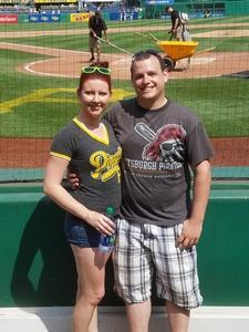 Andrew attended Pittsburgh Pirates vs. Baltimore Orioles - MLB on Sep 27th 2017 via VetTix