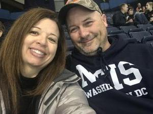 Kristen attended Chicago Wolves vs. Milwaukee Admirals - AHL on Nov 12th 2017 via VetTix