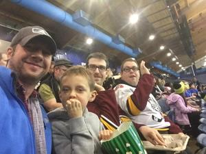 Albert attended Chicago Wolves vs. Milwaukee Admirals - AHL on Nov 12th 2017 via VetTix