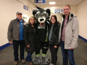 Aaron attended Chicago Wolves vs. Iowa Wild - AHL on Nov 26th 2017 via VetTix