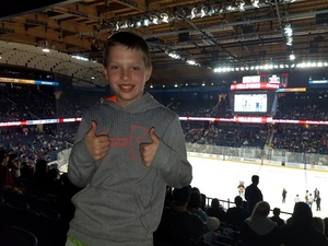 dominic attended Chicago Wolves vs. Milwaukee Admirals - AHL on Apr 7th 2018 via VetTix