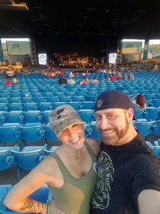 seth attended Brad Paisley: Weekend Warrior World Tour 2017 With Special Guest Dustin Lynch, Chase Bryant and Lindsay Ell - Lawn Seats on Sep 24th 2017 via VetTix