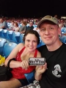 David attended Brad Paisley: Weekend Warrior World Tour 2017 With Special Guest Dustin Lynch, Chase Bryant and Lindsay Ell - Lawn Seats on Sep 24th 2017 via VetTix
