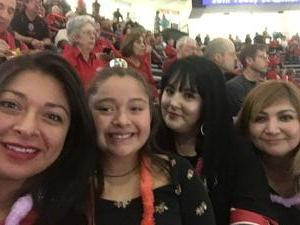 Cynthia attended University of New Mexico Lobos vs. Northern New Mexico - NCAA Mens Basketball on Nov 11th 2017 via VetTix