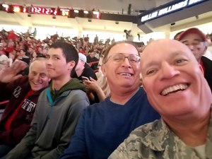 Richard attended University of New Mexico Lobos vs. Arizona - NCAA Mens Basketball on Dec 16th 2017 via VetTix